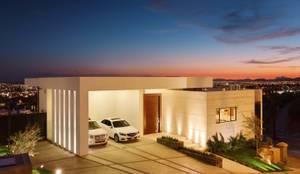 Case in stile in stile Moderno di Imativa Arquitectos