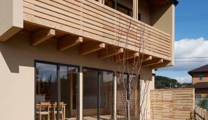 芦田成人建築設計事務所의 translation missing: kr.style.주택.eclectic 주택