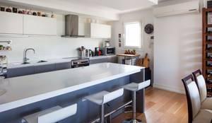 modern Kitchen by ALVARENGA+LLACAY arquitectos