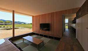 CONVEX HOUSE / リビング: SCALE ||| 株式会社スケールが手掛けたtranslation missing: jp.style.リビング.modernリビングです。