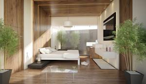 translation missing: tw.style.臥室.minimalist 臥室 by 21arquitectos
