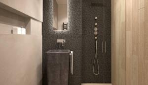 minimalistic Bathroom by FAMM DESIGN