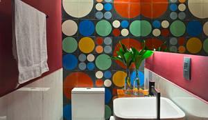 Baños de estilo moderno de Lucas Lage Arquitetura