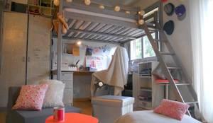 Sylviane Gestalderが手掛けたtranslation missing: jp.style.寝室.eclectic寝室