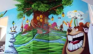 wandgestaltung graffiti airbrush von appolloart color y dise o de las paredes en strausberg. Black Bedroom Furniture Sets. Home Design Ideas