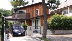 Maisons de style de stile Rural par アトリエグローカル一級建築士事務所