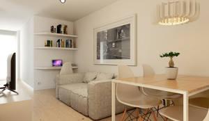 minimalistische Wohnzimmer von José Tiago Rosa