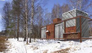 Projekty, nowoczesne Domy zaprojektowane przez План_Б