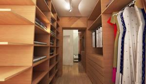 Closets de estilo moderno por Maxma Studio