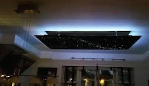 luxe badkamer sterrenhemel plafond verlichting van glasvezel en led by hemelplafond homify. Black Bedroom Furniture Sets. Home Design Ideas