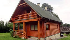 Casas de estilo rural por BIURO PROJEKTOWE MTM STYL