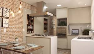 Cocinas de estilo mediterráneo por Fernanda Moreira - DESIGN DE INTERIORES
