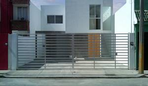 Casas de estilo moderno por CCA|arquitectos