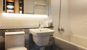 로이하우스: minimal tarz tarz Banyo