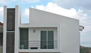 Casas de estilo minimalista por Bojorquez Arquitectos SA de CV