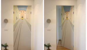 Corredores, halls e escadas ecléticos por studio ferlazzo natoli