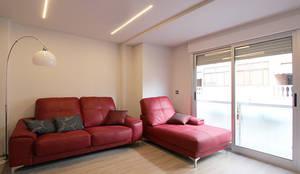 Salas de estar modernas por Novodeco