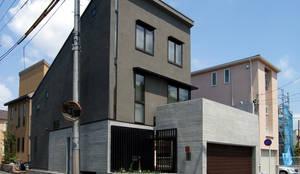外観: シーズ・アーキスタディオ建築設計室が手掛けたtranslation missing: jp.style.家.modern家です。