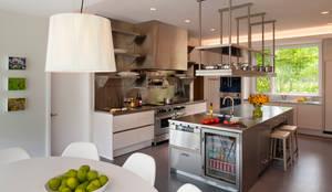 Cocinas de estilo moderno por Cunningham   Quill Architects