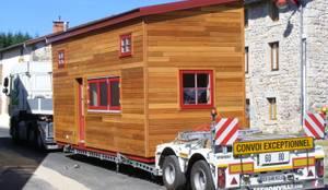 Projekty, minimalistyczne Domy zaprojektowane przez TINY HOUSE CONCEPT - BERARD FREDERIC