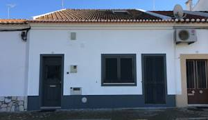 Casa em Benavente: Habitações translation missing: pt.style.habitações.rustico por QFProjectbuilding, Unipessoal Lda