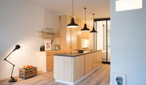 industriale Küche von MELANIE LALLEMAND ARCHITECTURES