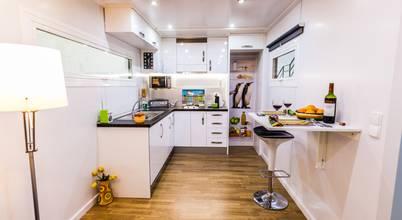 Modulow constructores en zaragoza homify - Disenar una cocina pequena ...