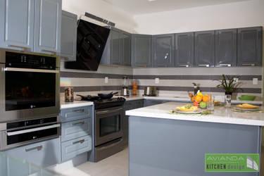 Avianda kitchen design dise adores de cocinas en le n homify - Disenadores de cocinas ...