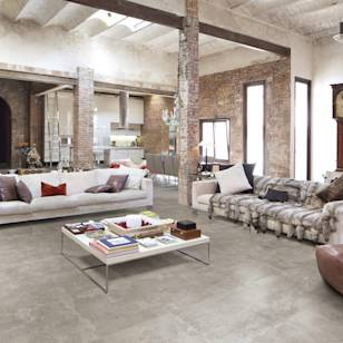 Industrial living room photos by berliner fliesenmarkt i homify