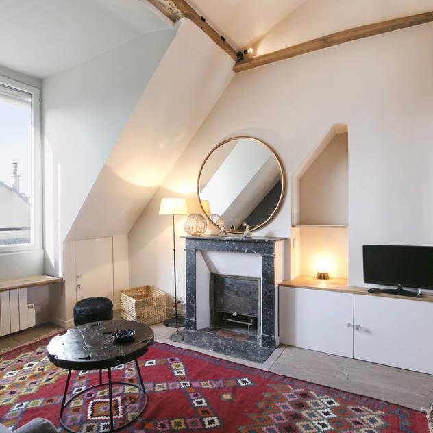 Salas de estilo escandinavo por cristina velani