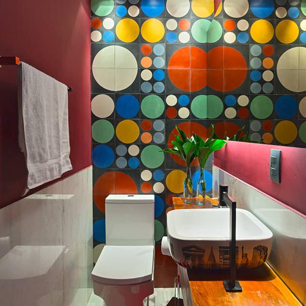 Casas de banho modernas por Lucas Lage Arquitetura