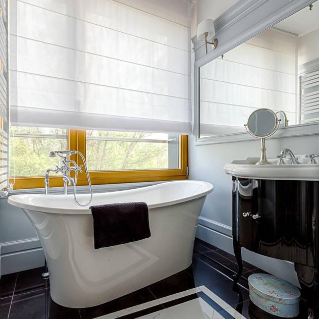 Casas de banho modernas por Michał Młynarczyk Fotograf Wnętrz