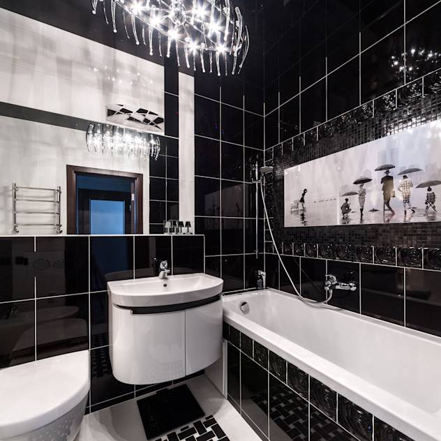 Casas de banho modernas por Asiya Orlova Interior Design