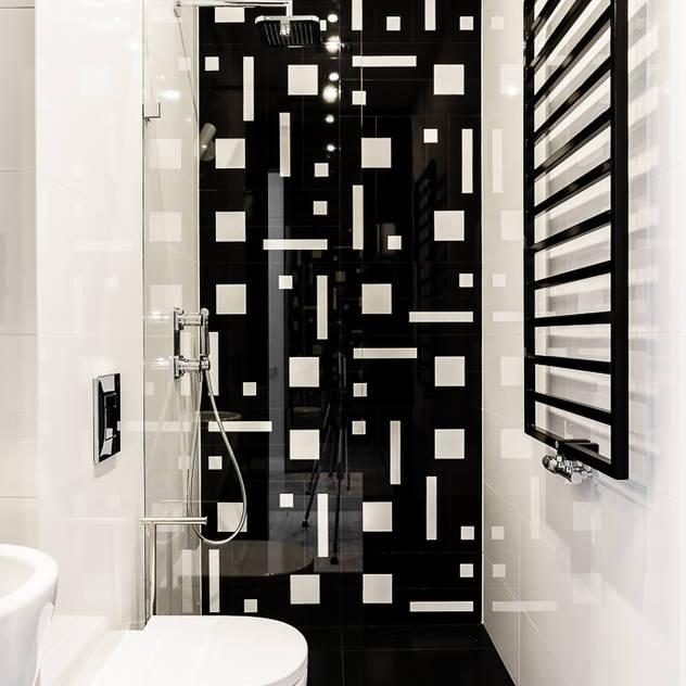 Casas de banho modernas por Pracownia Projektowa Dragon Art