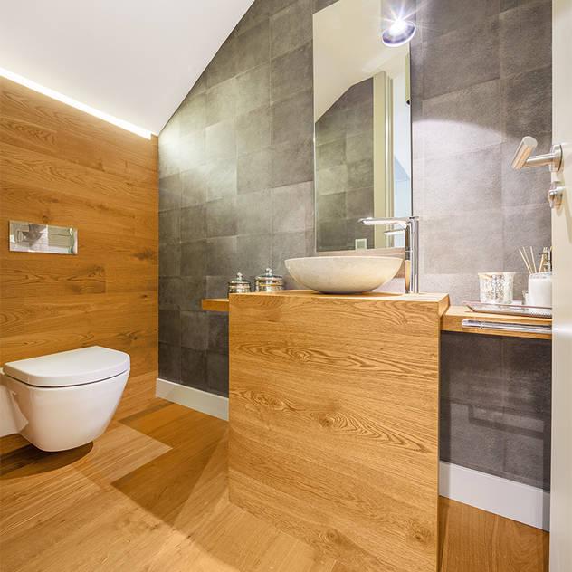 Banheiros modernos por Tarimas de Autor