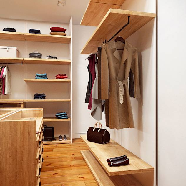 Closets escandinavos por Art-i-Chok