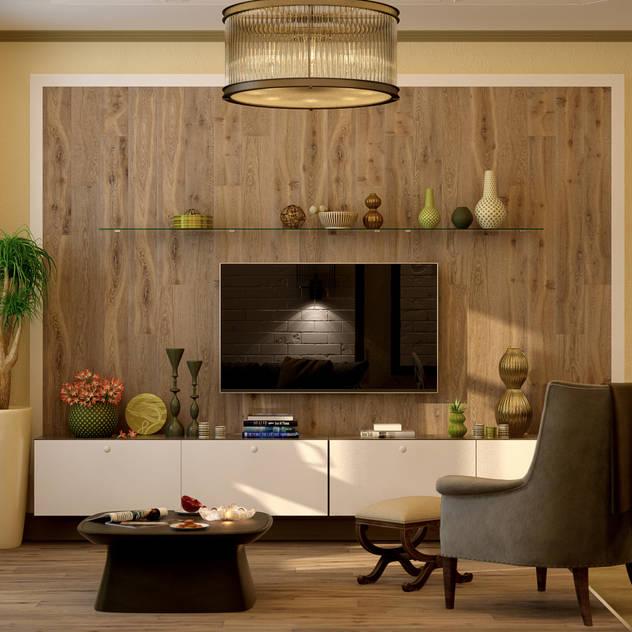 country Living room by Студия интерьерного дизайна Дарьи Шамардиной и Александра Зуева