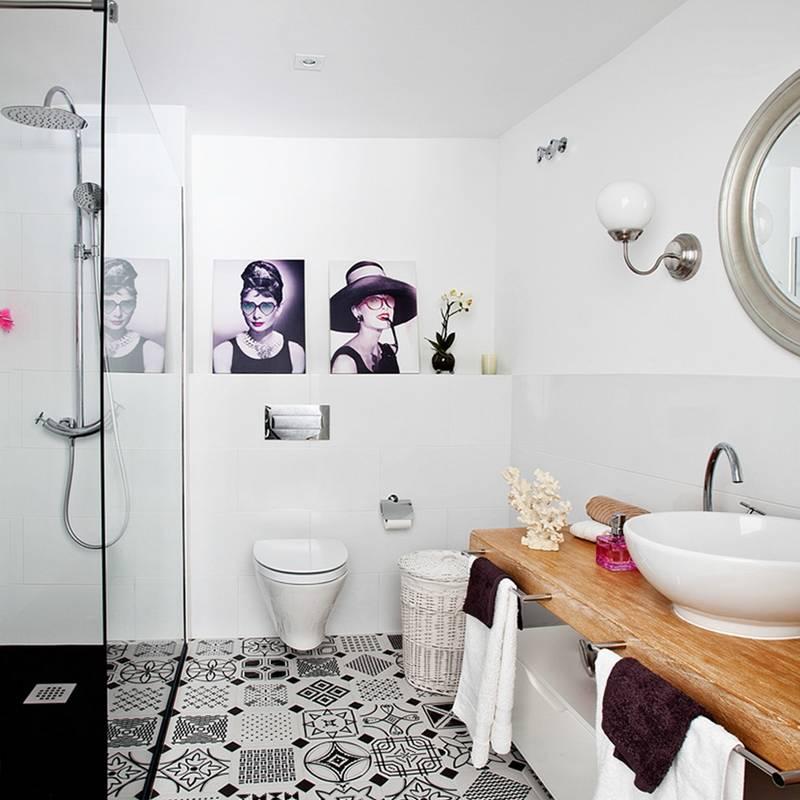 Baños de estilo translation missing: mx.style.baños.eclectico por Disak Studio