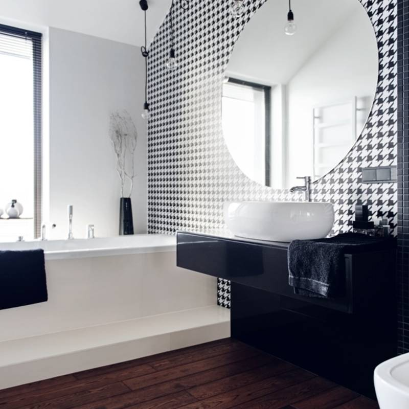 Baños de estilo translation missing: mx.style.baños.industrial por formativ. indywidualne projekty wnętrz