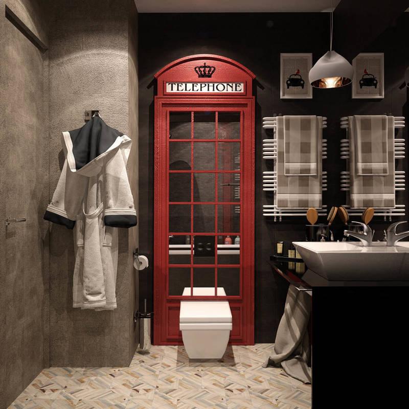 Baños de estilo translation missing: mx.style.baños.industrial por Reroom