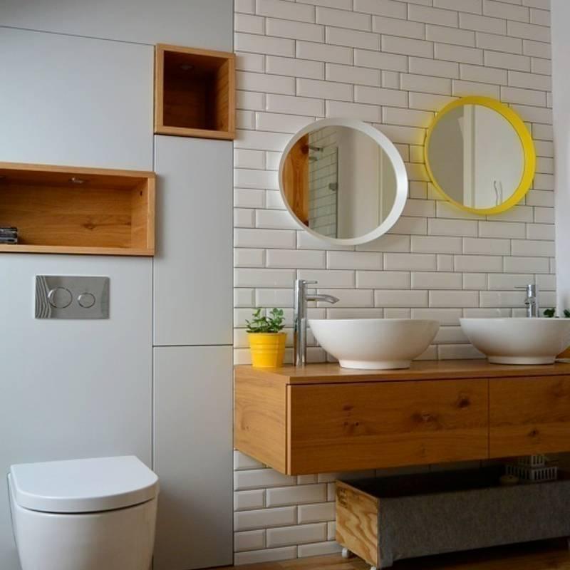 Baños de estilo translation missing: mx.style.baños.escandinavo por kabeDesign kasia bialoblocka