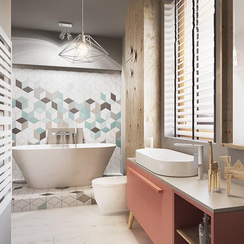 Baños de estilo translation missing: mx.style.baños.industrial por razoo-architekci