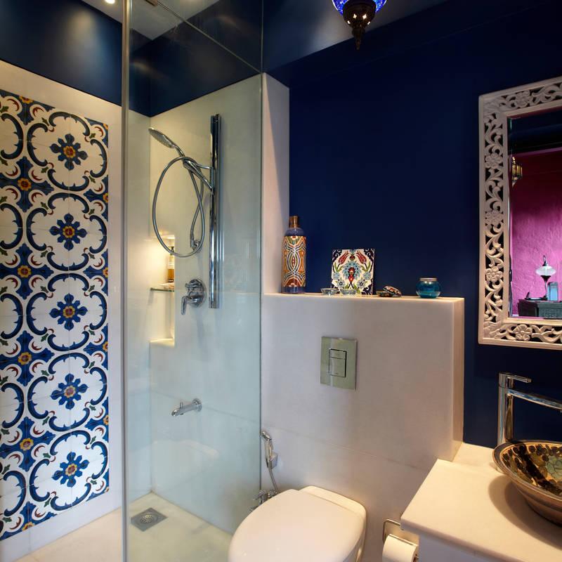 Baños de estilo translation missing: mx.style.baños.eclectico por Interface