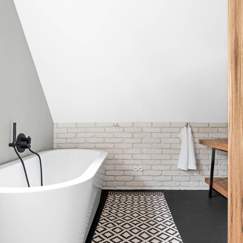 Baños de estilo translation missing: mx.style.baños.escandinavo por OIKOI