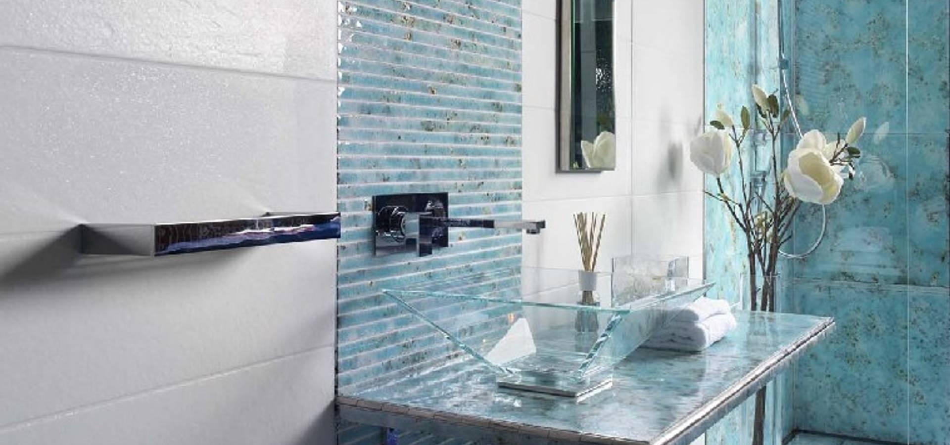Acquario due mattonelle pietra piani di lavoro a bastia di rovolon homify - Foto di bagno ...