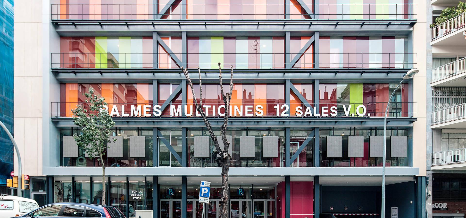 Balmes multicines de mmass arquitectura enric i robert - Balmes multicines ...