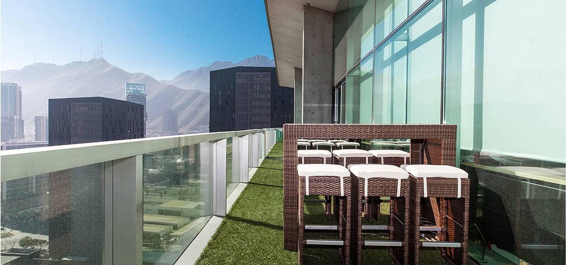 Oficinas en torre virreyes ciudad de mexico de ofis design for Homify mexico