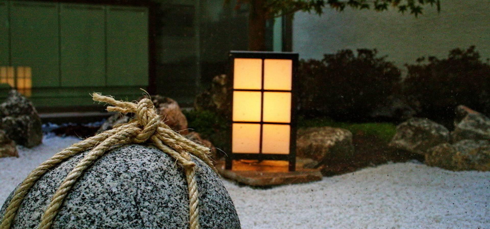 Jardin zen moderno de jardines japoneses estudio de - Fotos jardines japoneses ...