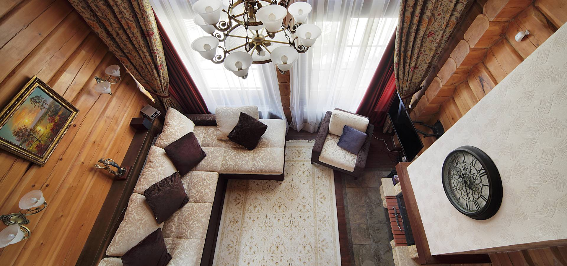Cabinas De Ducha Foro:fotos-de-salones-de-estilo-rustico-dejpg