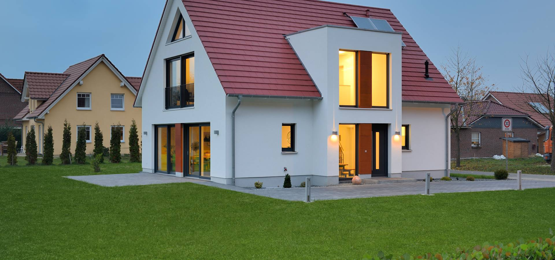 musterhaus l neburg norddeutscher haustyp mit charme von. Black Bedroom Furniture Sets. Home Design Ideas